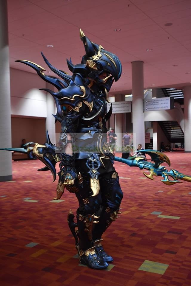 Custom Cheap Final Fantasy XIV Dragoon Lancer Full Cosplay Armor In