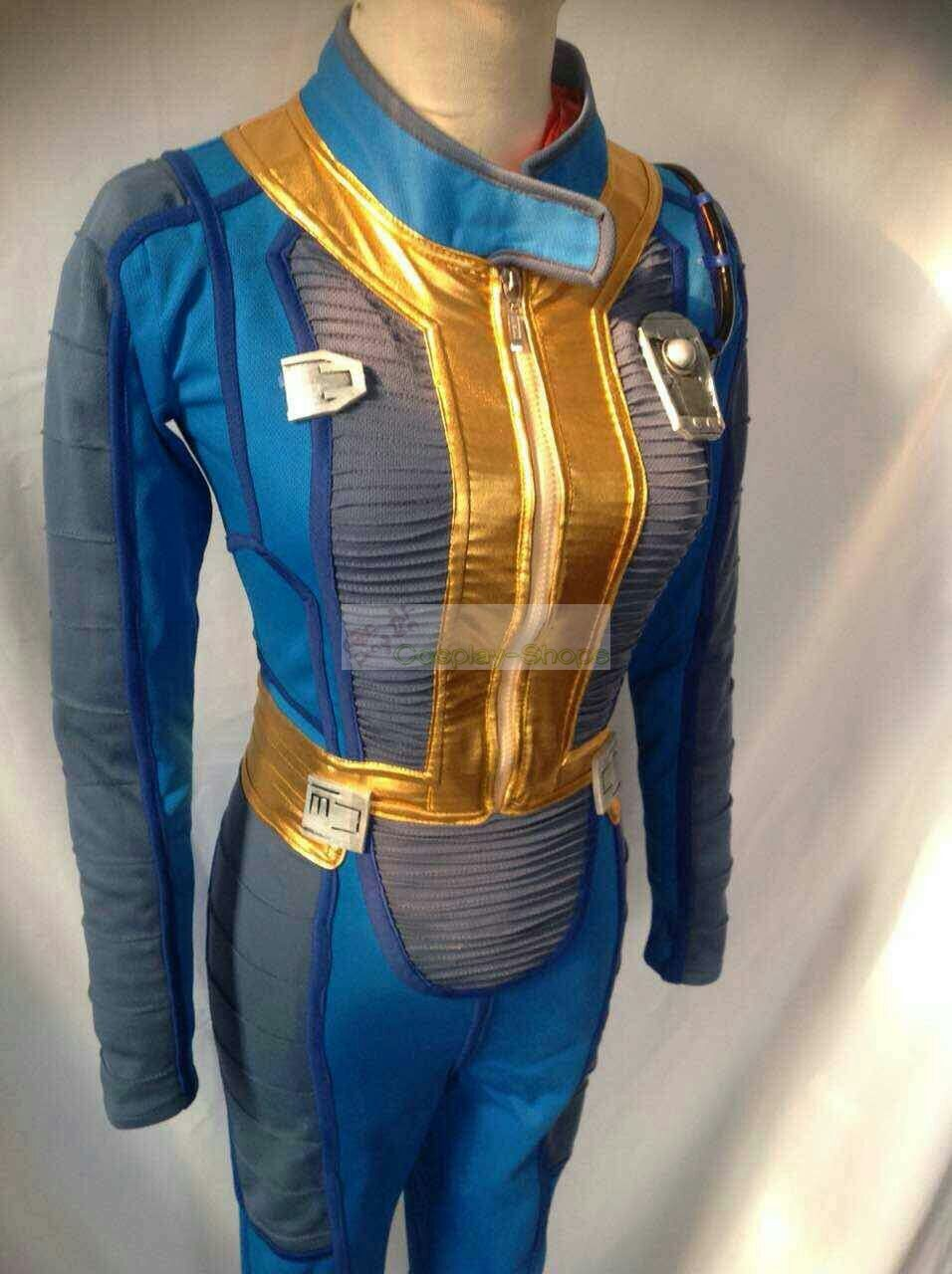 7e98fcc6b1b Custom Cheap Fallout 4 Sole Survivor Vault 111 Jumpsuit Cosplay ...
