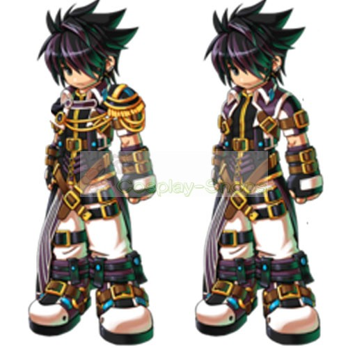 Custom Cheap Grand Chase Sieghart Prime Knight Full Outfit