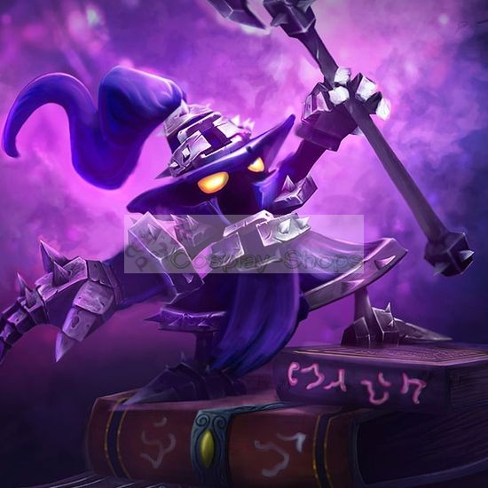 Custom Cheap League Of Legends Lol Veigar Cosplay Costume In League