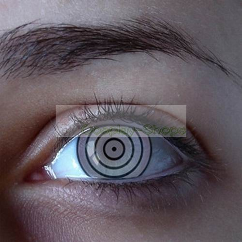 Custom Cheap Naruto Rinnegan Sharingan Contact Lenses In ...