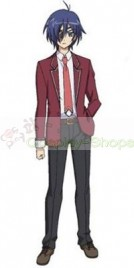 Eleven Eyes / 11 Eyes School Boy Uniform Cosplay Costume