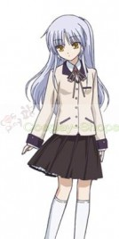 Angel Beats! Kanade Tachibana Cosplay Costume