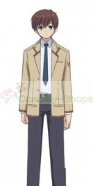 Angel Beats! SSS members Boys School Uniform Cosplay Costume