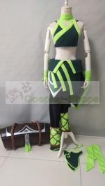 League of Legends LOL the Rogue Assassin Akali Cosplay Costume