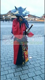 FINAL FANTASY XIV FF14 Samurai Cosplay Costume