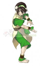 Avatar: The Last Airbender Toph Bei Fong / Toph Beifong Cosplay Costume