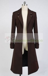 Attack on Titan The Wings of Counterattack Eren Jaeger / Levi Ackerman Rivaille Coat Cosplay Costume