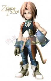 Final Fantasy IX FF9 Zidane Tribal Cosplay Costume