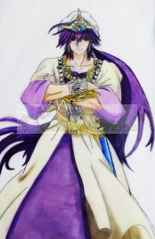 Magi: The Labyrinth of Magic Sinbad Household Vessels Cosplay Prop
