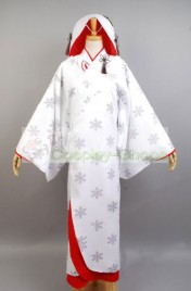 Vocaloid  Miku Snow Edition Suit Cosplay Costume