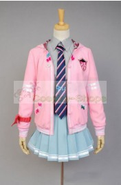 Vocaloid Project DIVA-f Miku Uniform Cosplay Costume