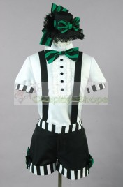 Vocaloid Miku Mrs Pumpkin Funny Dream Cosplay Costume