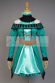 Vocaloid Project DIVA-F 2nd Miku dressCosplay Costume