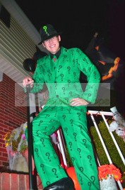 Batman Arkham City The Riddler Cosplay Costume