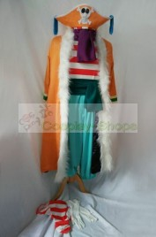 One Piece Buggy Cosplay Costume