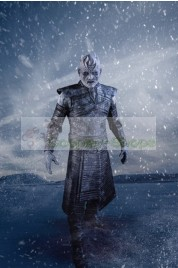 Night King from Game of Thrones White Walkers Cosplay Costume