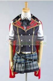 Final Fantasy Type-0 Rosefinch Magic College Summer Uniform Cosplay