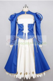 Fate/Stay Night Saber Dress Cosplay Costume