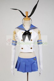 Kantai Collection KanColle Destroyer Shimakaze Cosplay Costume