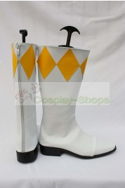 Mighty Morphin Power Rangers Yellow Ranger TigerRanger Boi Cosplay Boots