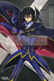 Code Geass Black Knights Lelouch Lamperouge Zero Cosplay Costume