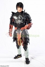 Mortal Kombat X Dark Emperor Liu Kang Full Armour Cosplay