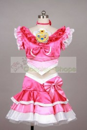 Suite Pretty Cure / Suite PreCure Cure Melody Cosplay Costume