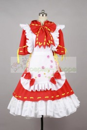 Vocaloid Miku Project DIVA 2nd Dress Cosplay Costume