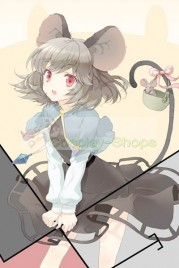 Touhou Project Undefined Fantastic Object Nazrin Grey Cosplay Costume