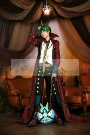 Custom Made Ao no Exorcist / Blue Exorcist King of Earth Amaimon Long Jacket Cosplay Costume