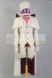 Ao no Exorcist / Blue Exorcist Mephistopheles Cosplay Costume