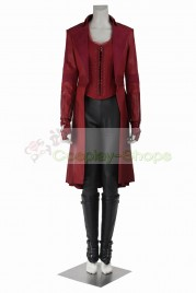 Captain America Civil War - Captain America 3 Scarlet Witch Wanda Maximoff Cosplay Costume