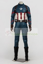 Captain America Civil War - Captain America 3 Steve Rogers / Captain America Suit Cosplay Costume