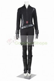 Captain America The Winter Soldier Black Widow JumpSuit Cosplay Costume