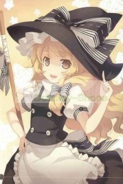 Touhou Project Kirisame Marisa Maid Black and White Cosplay Costume