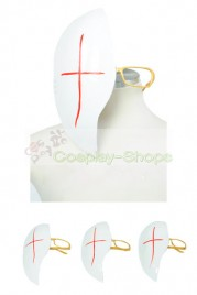 D.Gray Man Cross Marian Mask Cosplay Prop