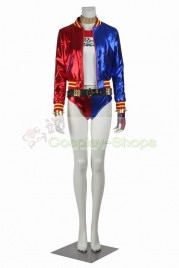 DC Comics Suicide Squad Harley Quinn Cosplay Costume