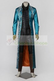 Devil May Cry DMC 3 Vergil Cosplay Costume