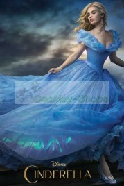 Cinderella Ella Dress Cosplay Replica Costume