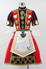 Alice Madness Returns Poker Dress Cosplay Costume