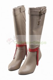 Final Fantasy XV FF15 Cindy Aurum Cosplay Boots