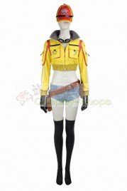 Final Fantasy XV FF15 Cindy Aurum Cosplay Costume