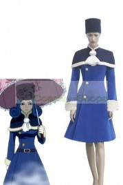 Fairy Tail Juvia Loxar Cosplay Costume Blue