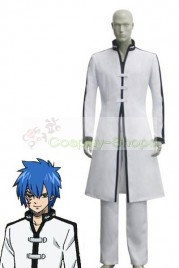 Fairy Tail Gerard Fernandes Cosplay Costume White