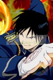 FullMetal Alchemist(FA) Colonel Roy Mustang Military Blue Cosplay Costume