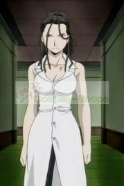 FullMetal Alchemist(FA) Izumi Curtis Purple and White Cosplay Costume
