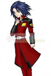 Mobile Suit Gundam SEED Destiny Athrun Zala Red Cosplay Costume
