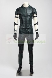 Arrow Season 4 Oliver Queen Green Arrow Cosplay Costume