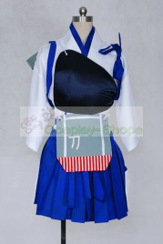 Kantai Collection KanColle Kaga Class Aircraft Carrier Cosplay Costume